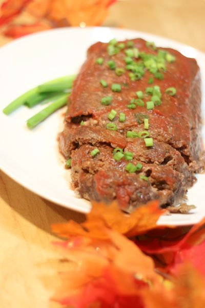 Meatloaf with Brown Sugar Tomato Sauce
