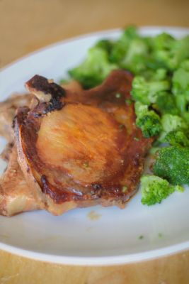 Summertime Grilling - Sweet & Spicy Pork Chops